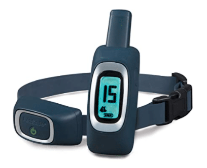 PetSafe Remote Training Collar – Choose from Tone, Vibration, or 15 Levels of Static Stimulation – Medium Range Option for Training Off Leash Dogs – Waterproof and Durable – Rechargeable<br />