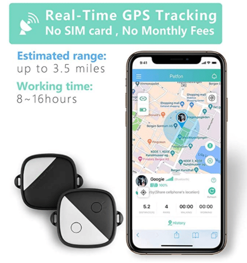 PetFon Pet GPS Tracker,The 10 Best GPS Dog Collars and Trackers of 2020