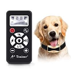 A + Trainer Electric Dog Training Collar, 21+ Best Training Collars For Puppies and stubborn dogs | Best shock collars for small dogs