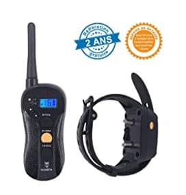 GLEADING -SDPCOLLAR-620, Fully waterproof anti bark shock Dog Training Collar 2, 21+ Best Training Collars For Puppies and stubborn dogs | Best shock collars for small dogs