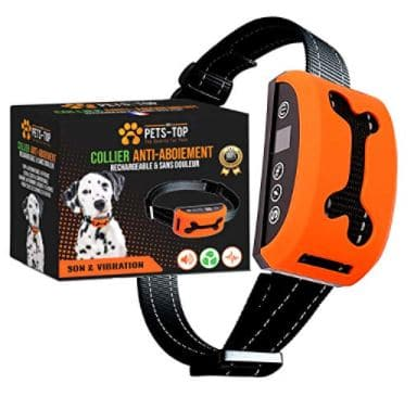 One PETS-TOP - Dog Training Collar with SportTrainer Remote Control, 21+ Best Training Collars For Puppies and stubborn dogs | Best shock collars for small dogs